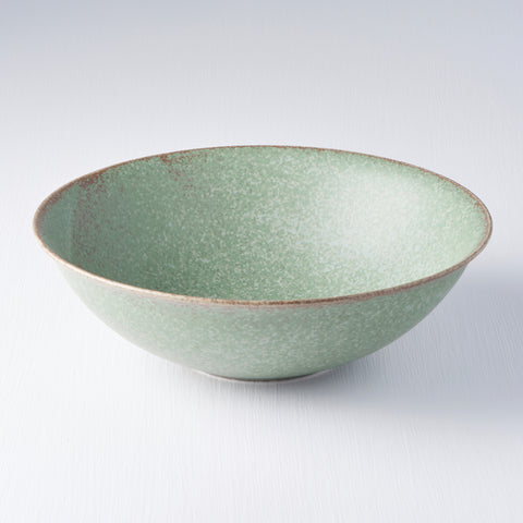 Green Fade Open Bowl