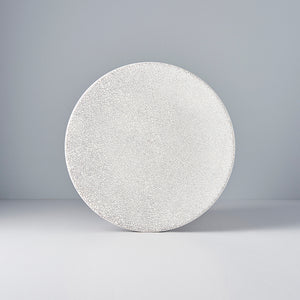 Aska White Large Plate