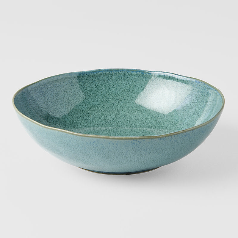 Peacock Large Oval Bowl