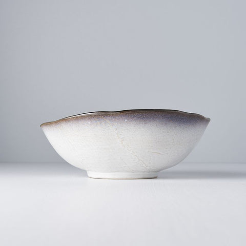 Sky Blue Large Uneven Bowl