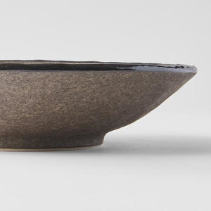 Earth Large Shallow Bowl