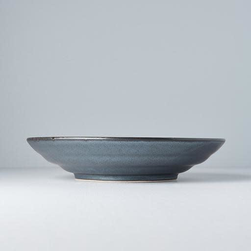Black Pearl Flat Base Serving Bowl