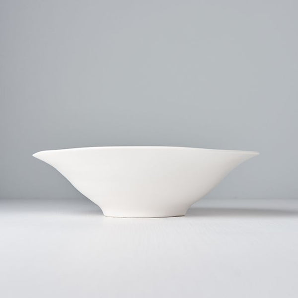 Modern Matte White Large Bowl