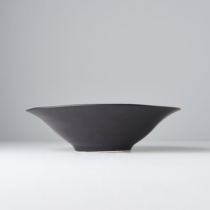 Modern Matte Black Large Bowl