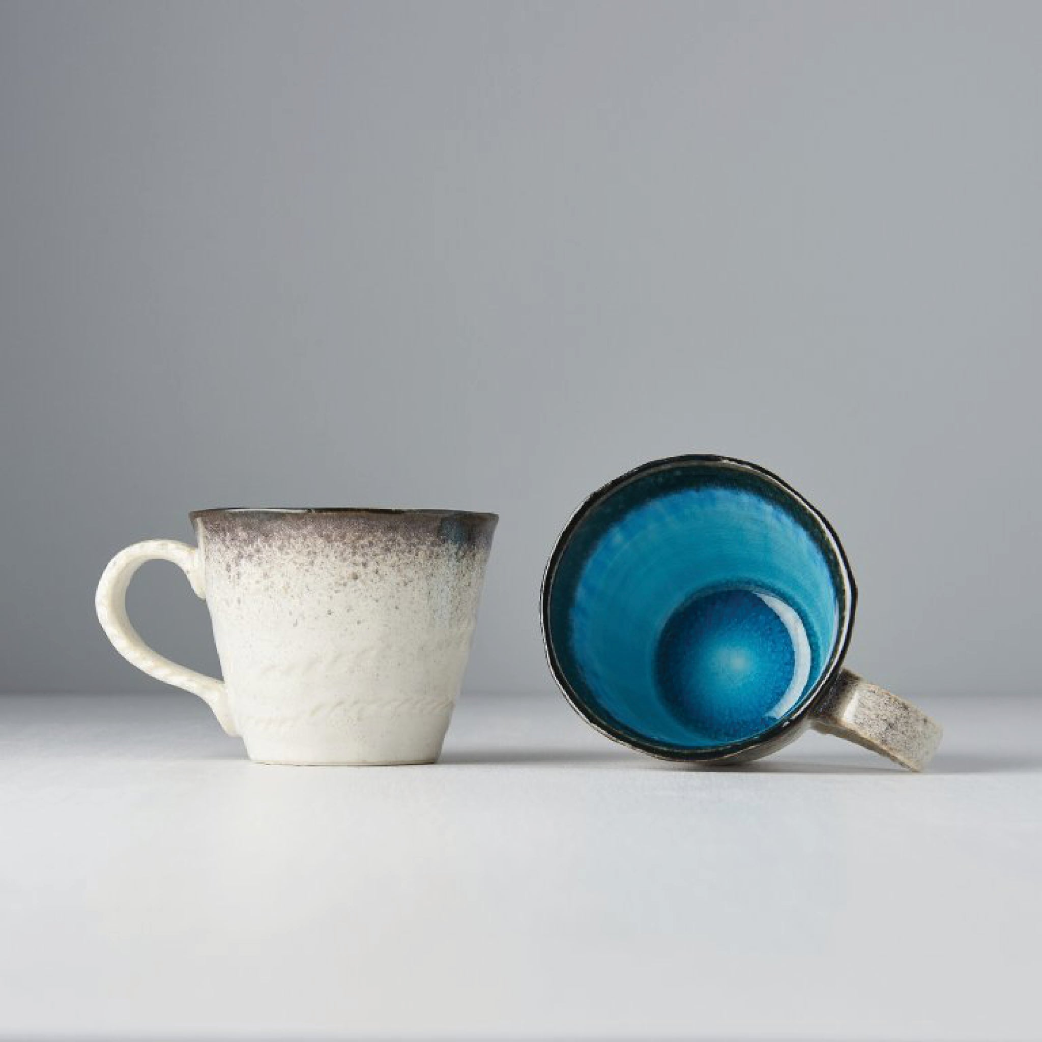 Sky Blue Mug with Handle