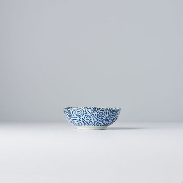 Blue Scroll Small Bowl