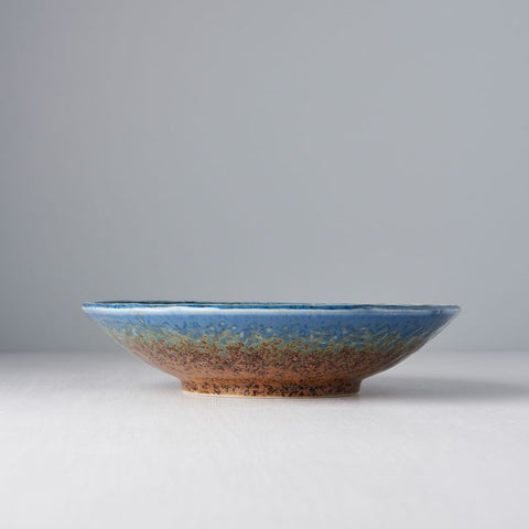 Earth & Sky Large Shallow Bowl