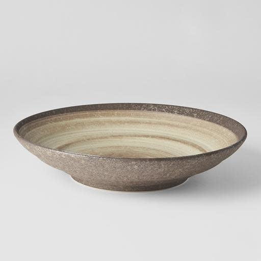 Nin-Rin Flat Base Serving Bowl