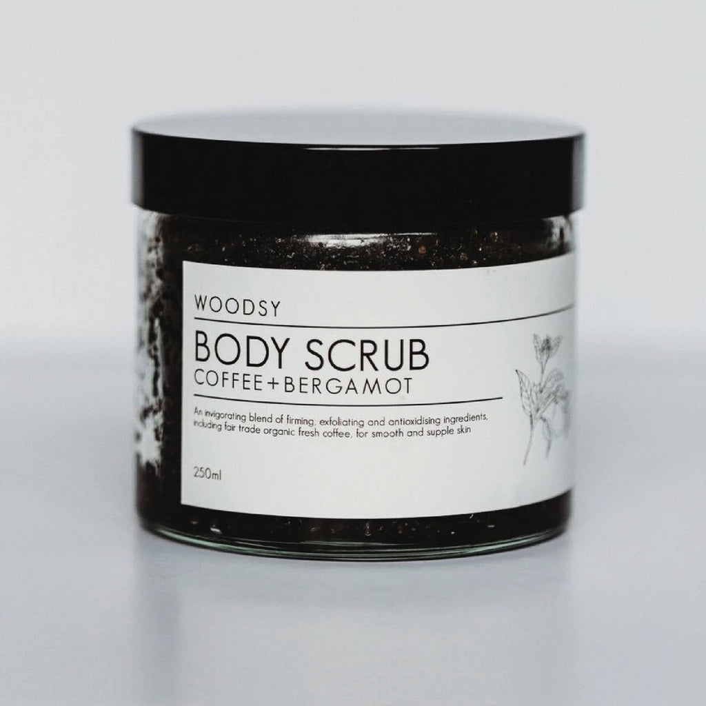 Coffee & Bergamot Body Scrub - Woodsy Botanics