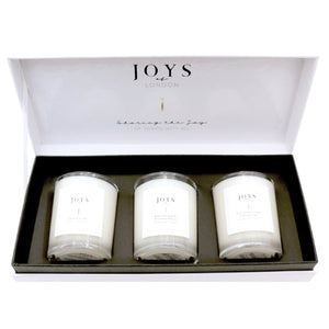 Joys of London Fresh Trio Candle Set