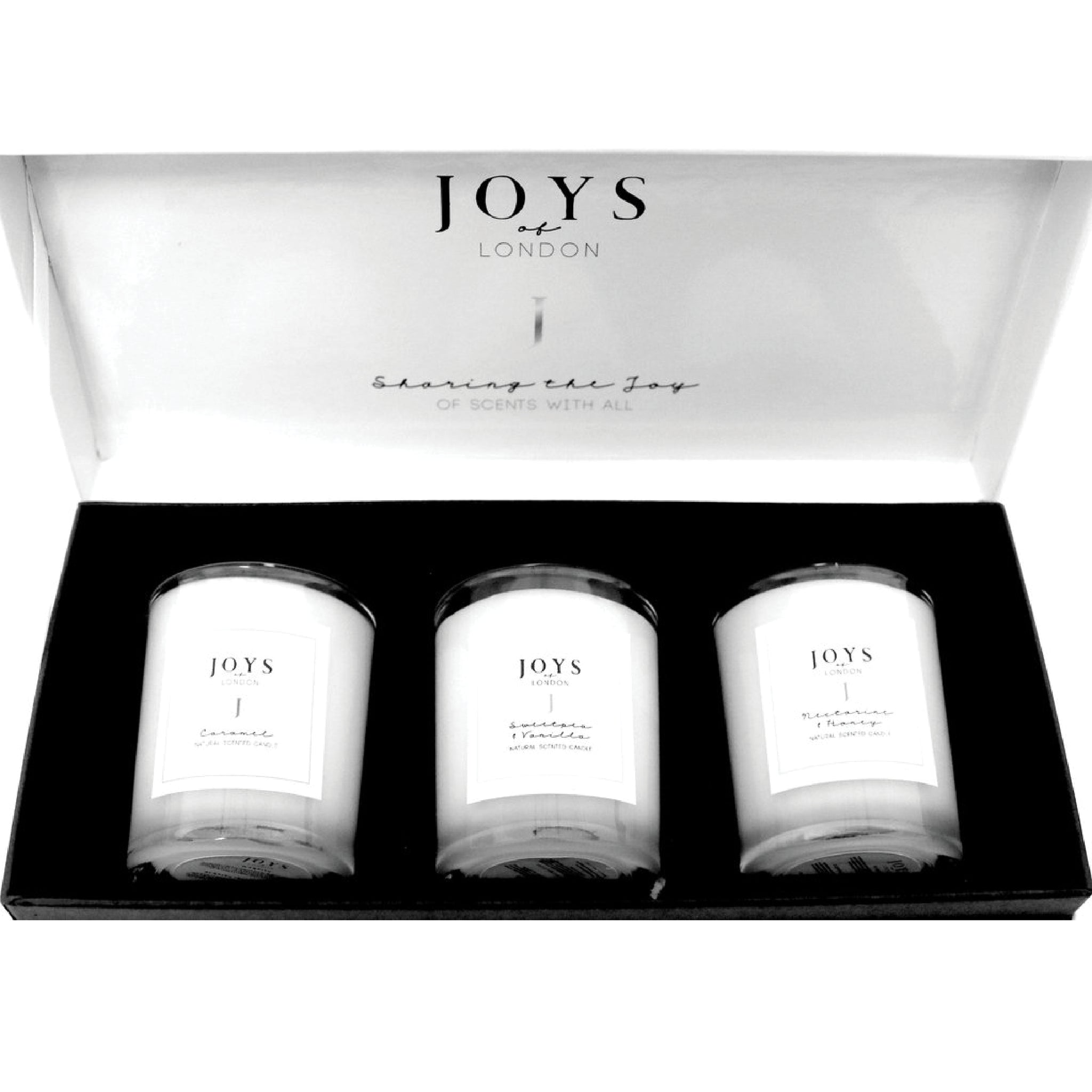 Joys of London Sweet Trio Candle Set