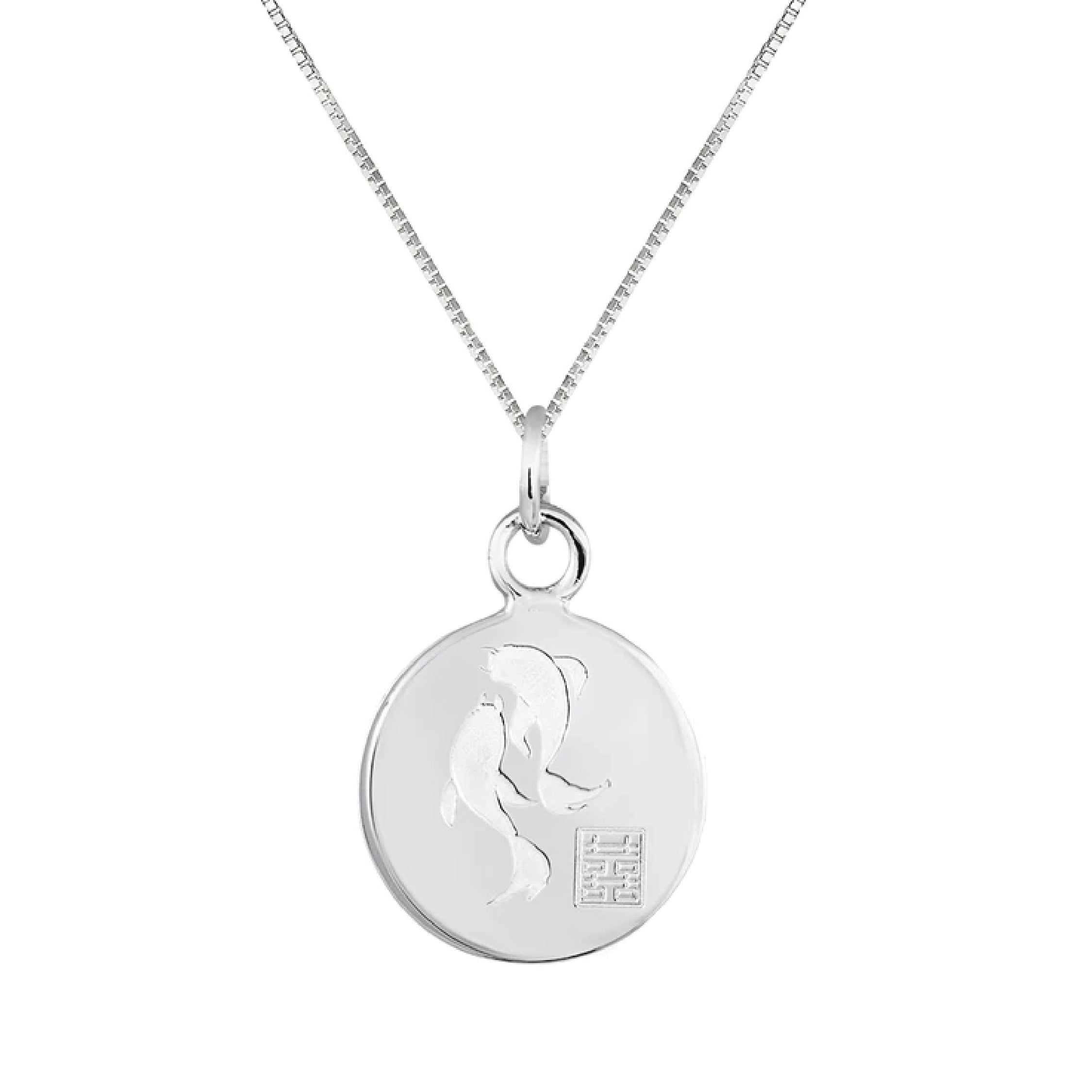 Blessings Koi Fish Pendant