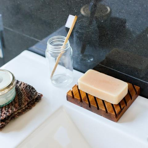 Little Bit Daily Rimu Soap Keeper