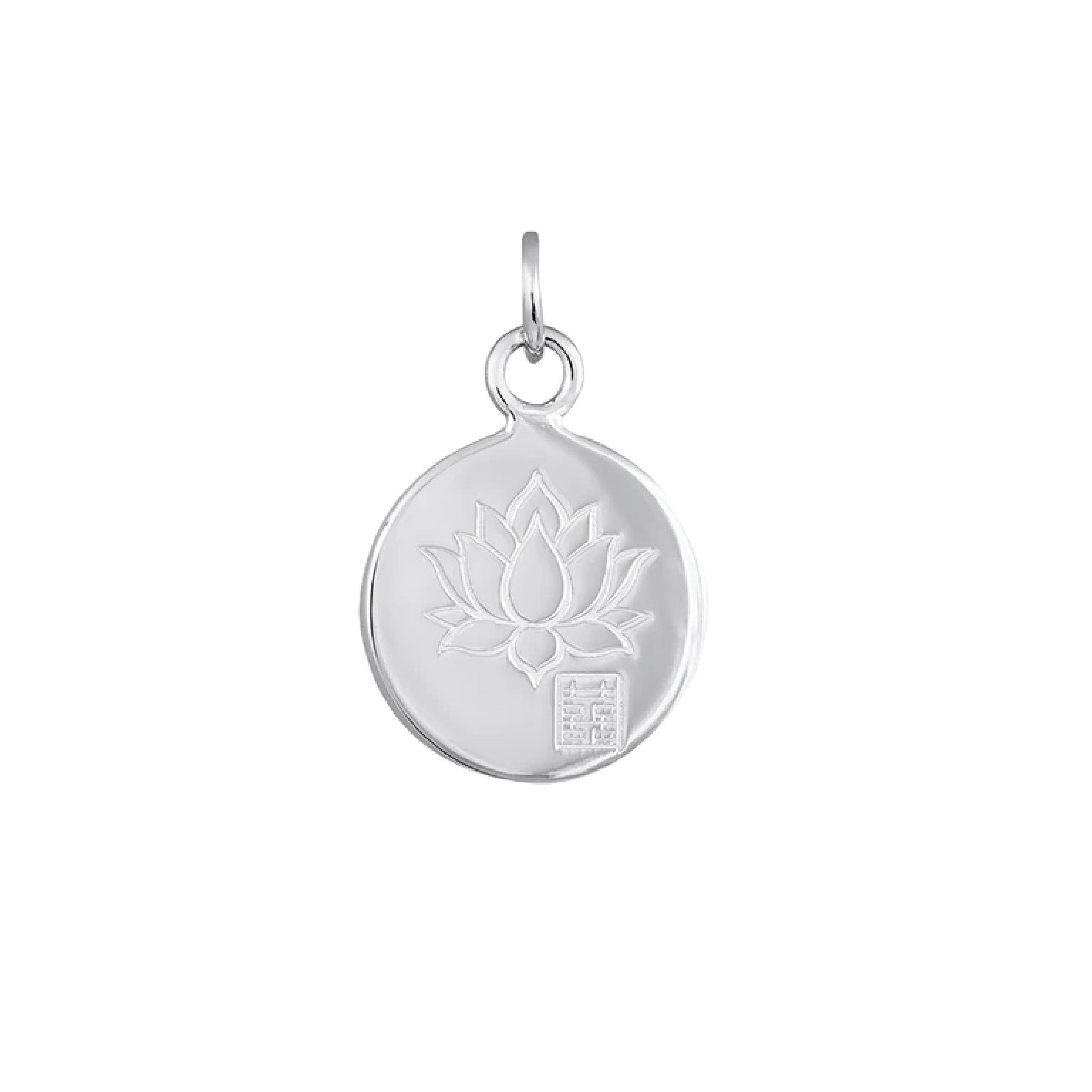Blessings Lotus Pendant
