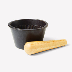 Kinto - Taku Mortar & Pestle in Black