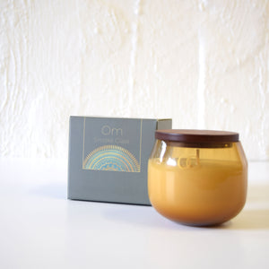 Only Orb OM - Fig & Teak Candle In Glass