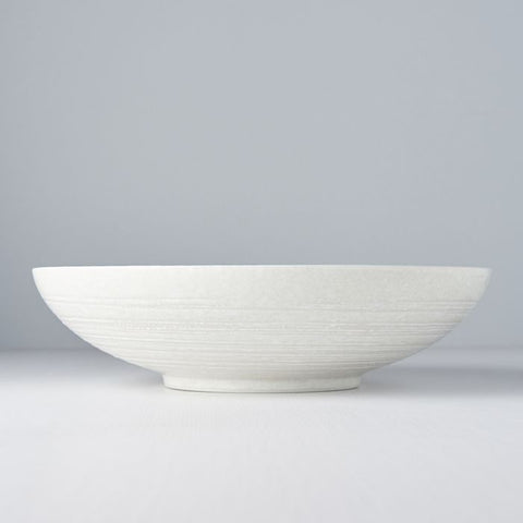 White Star Open Shape Serving Bowl