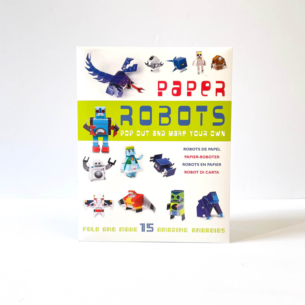 Paper Robots: Pop Out and Make Your Own