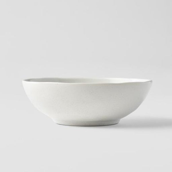 Parchment Small Open Oval Bowl