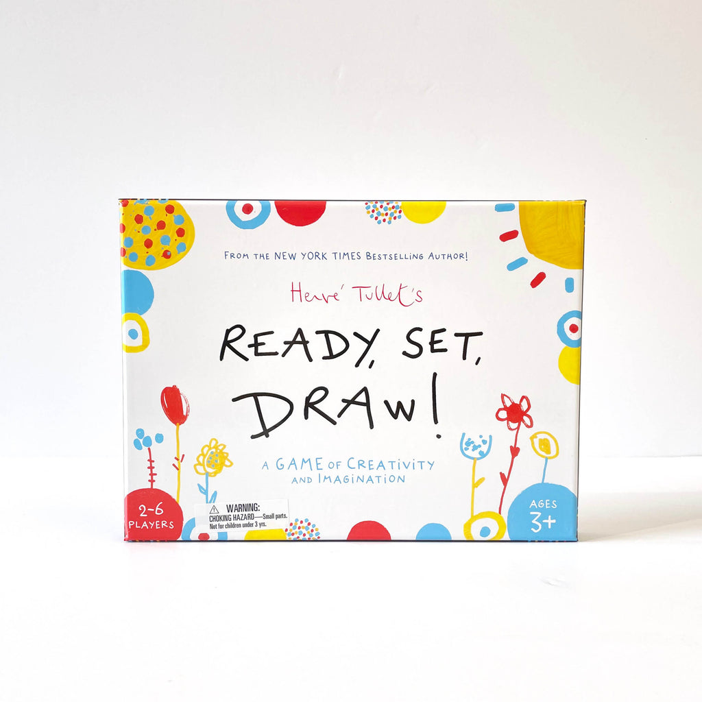 Ready, Set, Draw! - Hervé Tullet
