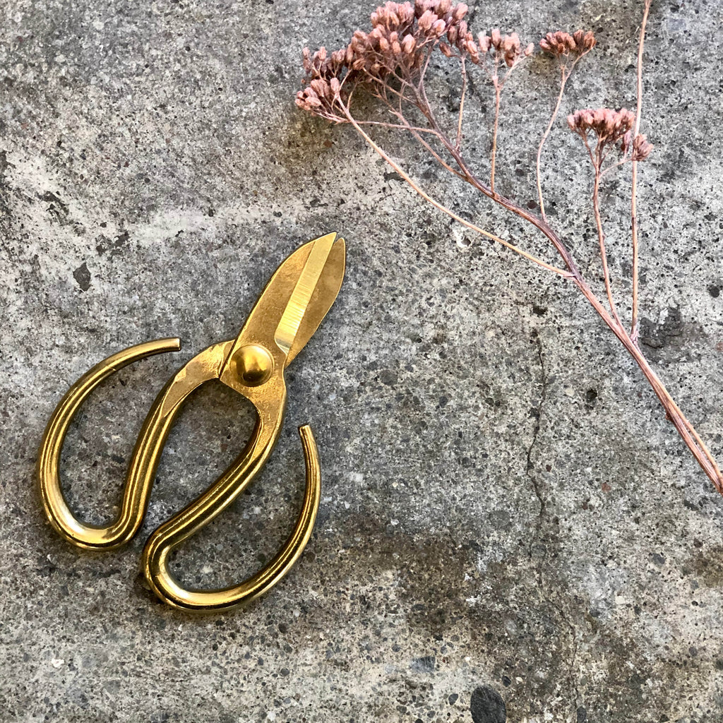 Gold Bonsai Scissors Small