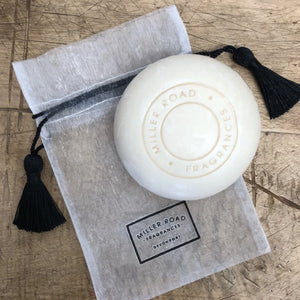 Miller Road Triple Milled Soap in Organza Bag