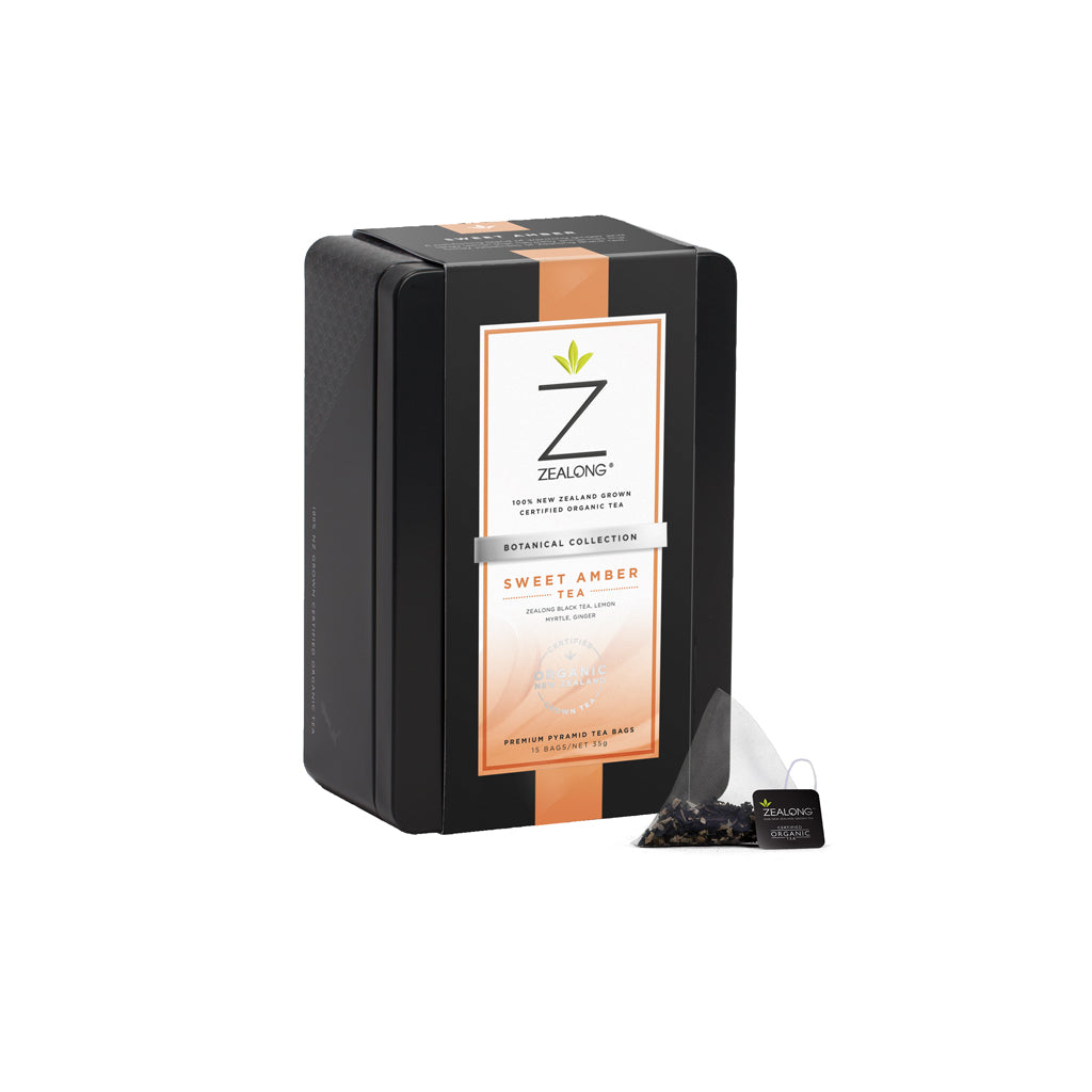 Zealong Botanicals Sweet Amber Tea Bag Collection