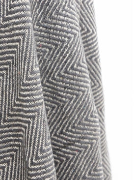 Aliin Cotton Throw in Grey