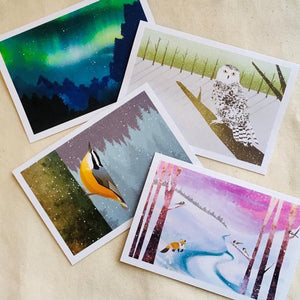 Winter wonder 12-pack - Art by Crystal Smith