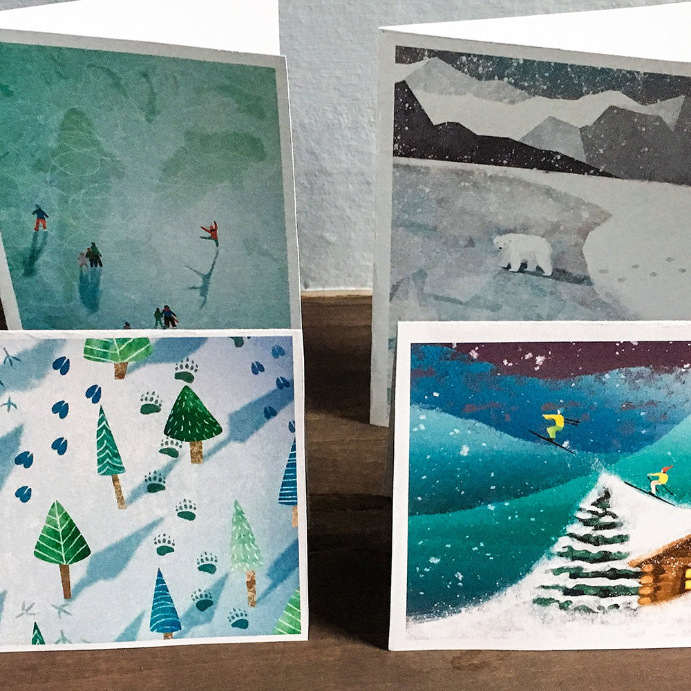 NEW! Winter 12 pack - art by Crystal Smith