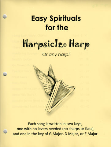 Easy Spirituals for the Harpsicle Harp