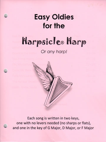 Easy Oldies for the Harpsicle Harp