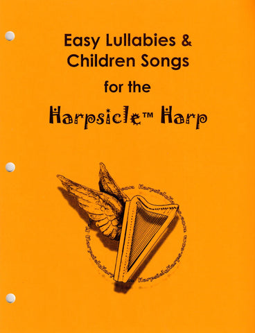 Easy Lullabies & Children Songs for the Harpsicle Harp