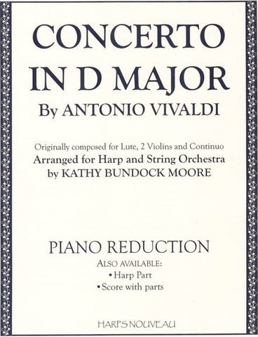 Concerto In D Major (Piano Reduction)