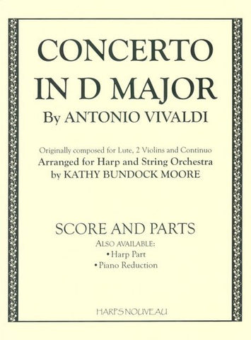 Concerto In D Major (Score and Parts)