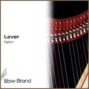 Lever (Folk) Nylon Harp String - 2nd Octave D