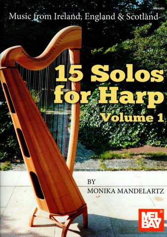 15 Solos for Harp Vol. 1