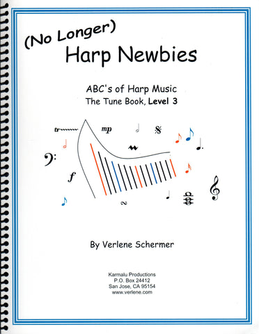 (No Longer) Harp Newbies, The Tune Book, Level 3