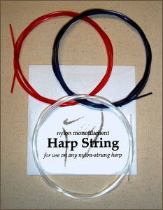 Monofilament Nylon .025 RED String