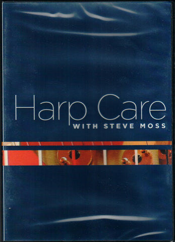 Harp Care with Steve Moss (DVD)