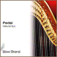 4th Octave D Bow Brand Pedal Gut Harp String