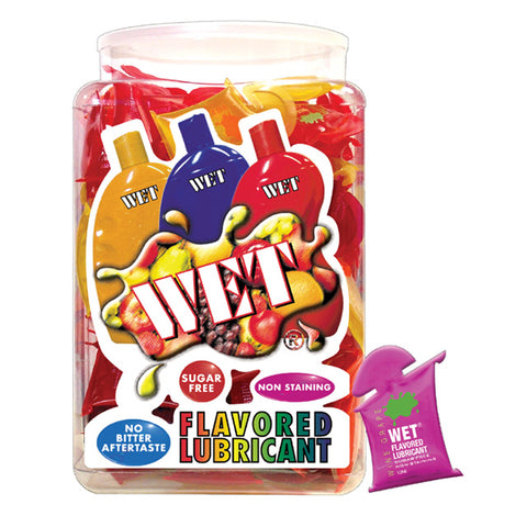 Wet Flavored Asst. Pillows (144/Bowl)