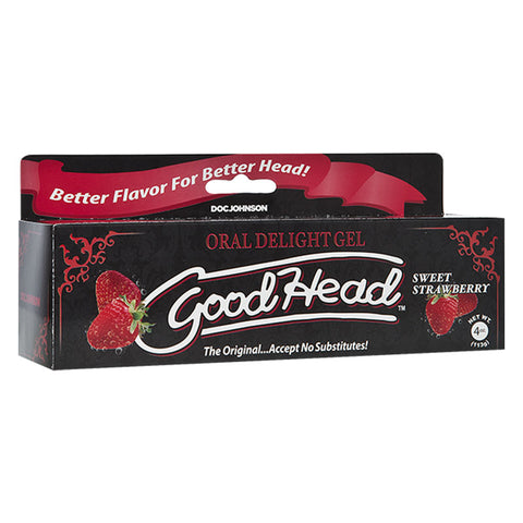 GoodHead Oral Delight Gel Straw 4oz