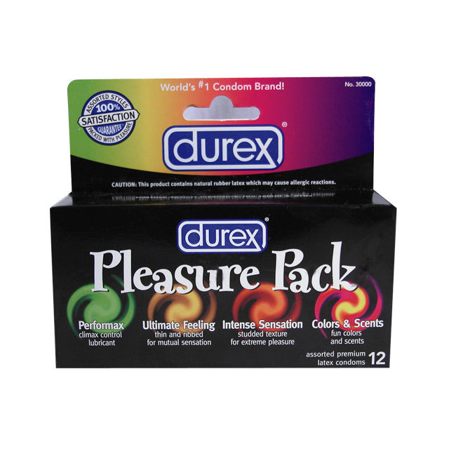Durex Pleasure Pack (12)