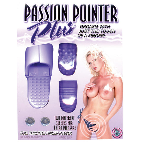 Passion Pointer Plus Finger Vibe (Lav)