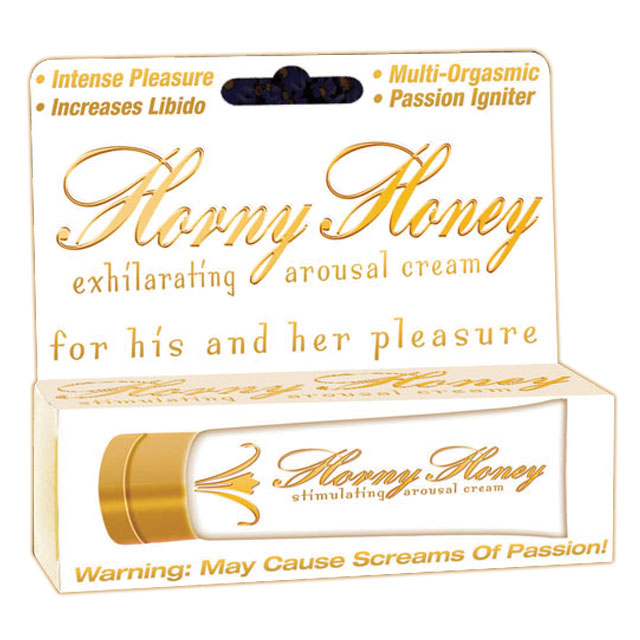 Horny Honey Stimulating Cream 1oz.