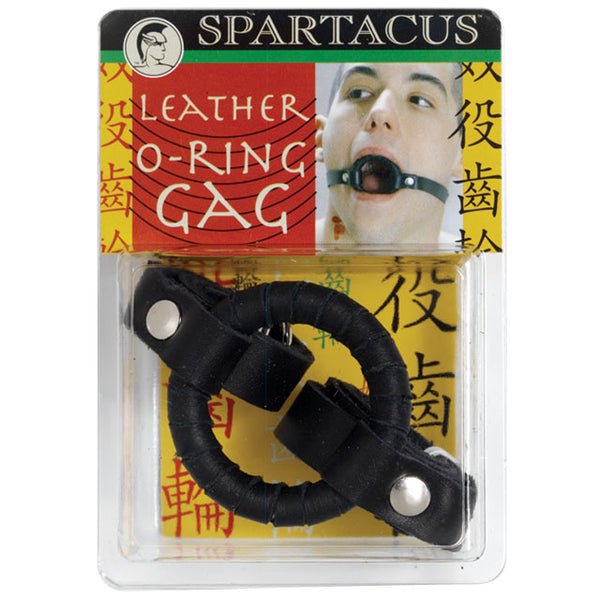 Extremeline Leather O-Ring Gag 1.75in.