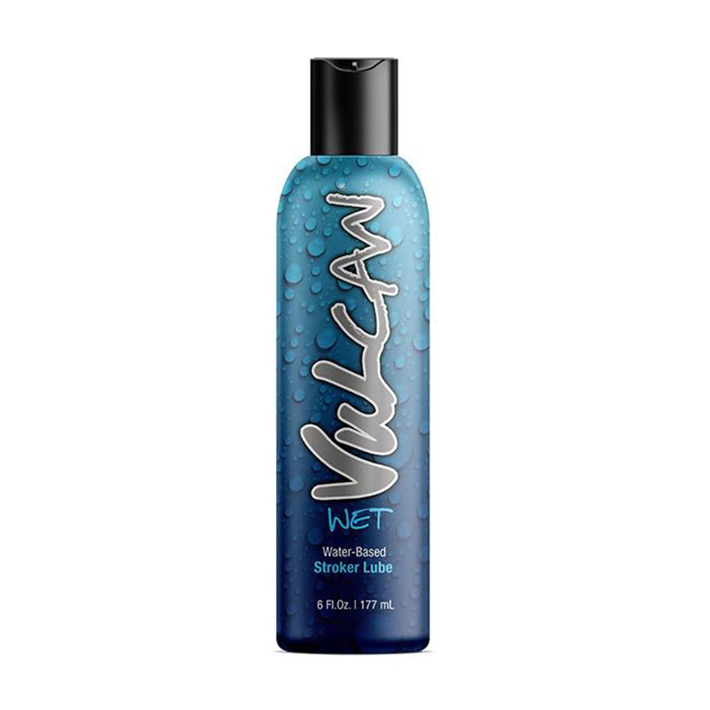 Vulcan Wet Water-Based Stroker Lube 6oz