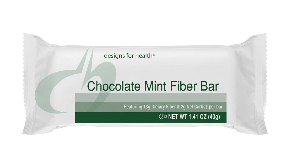 Chocolate Mint Fiber Bar - 1 Case of 18 Bars