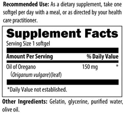 Oil of Oregano - 60 Softgels